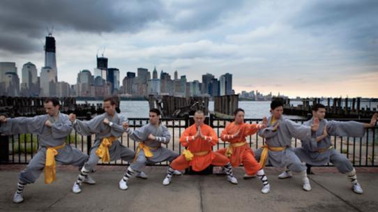 Shaolin kung fu training center