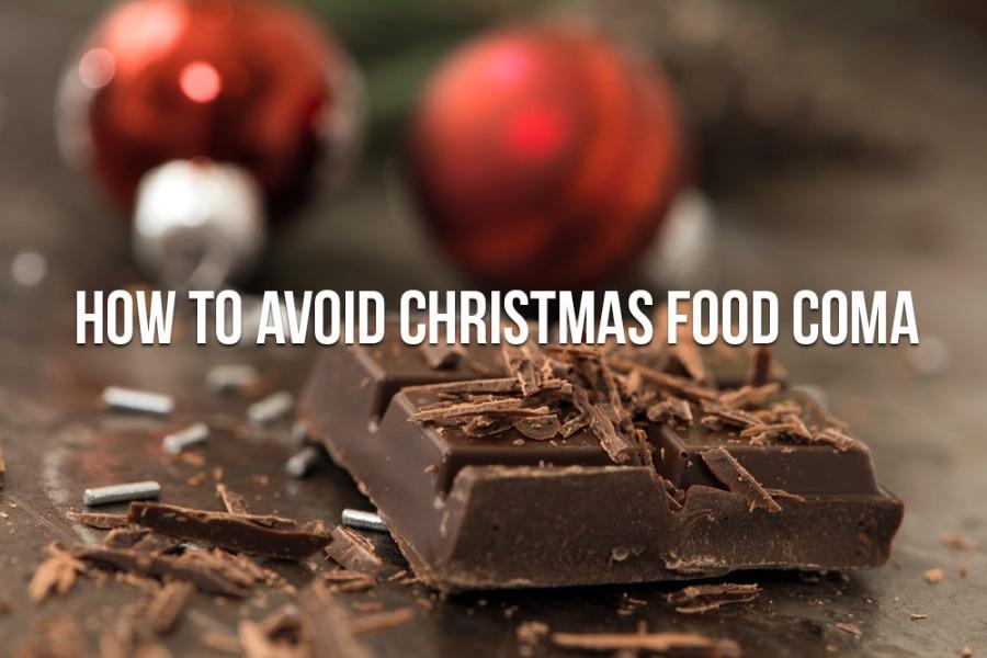 christmas food coma