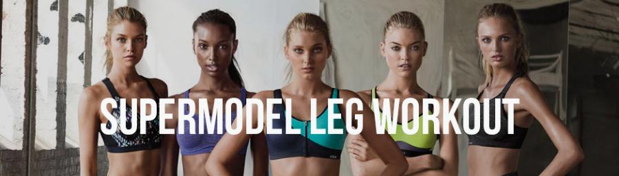 Supermodel leg workout